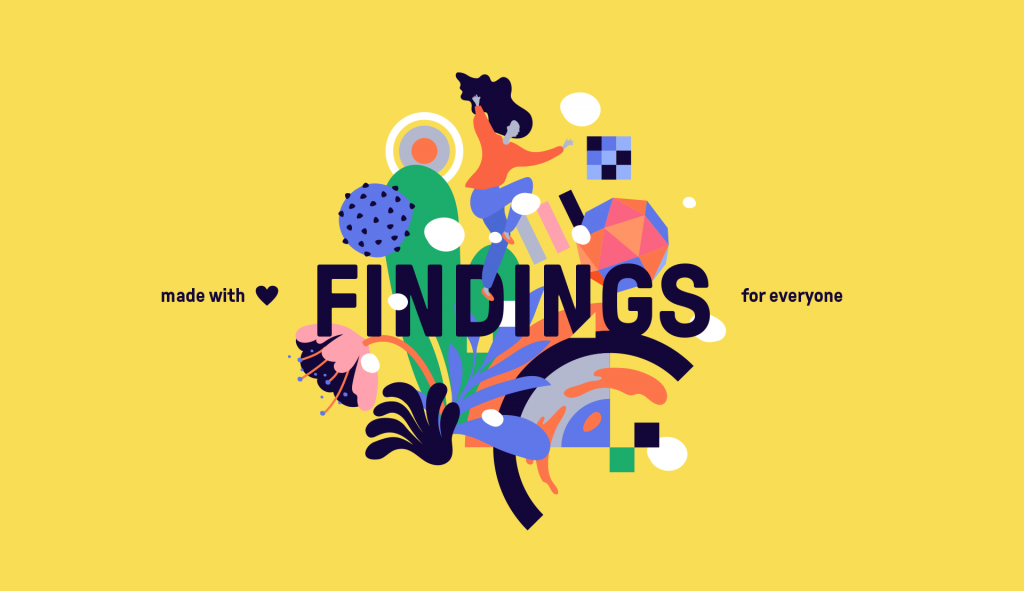 FINDINGS, a public art series, celebrates women and science and reimagines science through vibrant large-scale murals.
